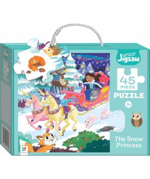 Puzzle - Crăiasa Zăpezii - Junior Jigsaw Snow Princess - Hinkler