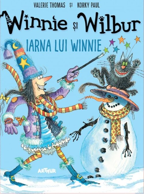 Winnie și Wilbur. Iarna lui Winnie - Editura Arthur