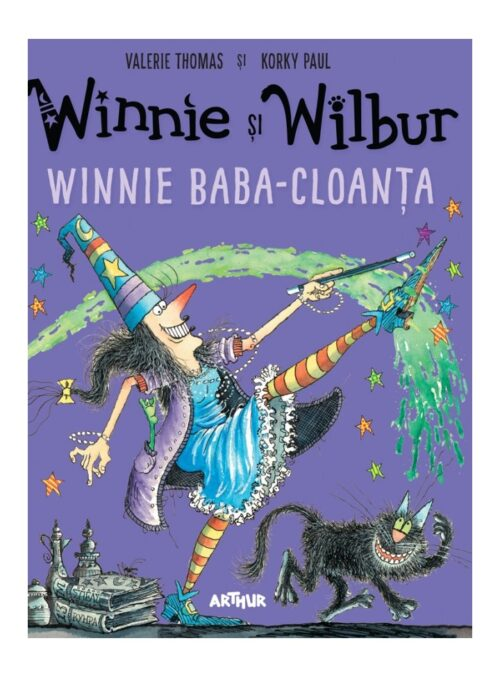 Winnie și Wilbur. Winnie Baba-Cloanța - Valerie Thomas - Editura Arthur