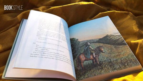 Hobbitul – Ediție ilustrată – J.R.R. Tolkien și Jemima Catlin – Editura Rao