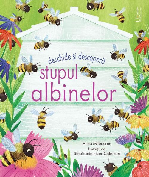 Stupul albinelor - Usborne - Carte cu ferestre - Univers Enciclopedic