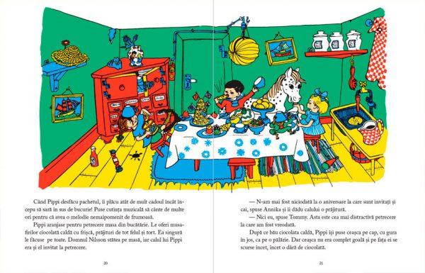 O cunoști pe Pippi Șosețica? – Astrid Lindgren, Ingrid Nyman – Editura Cartea Copiilor