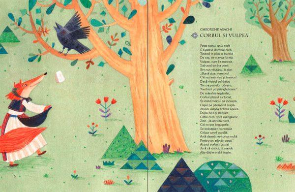 Fabule – antologie ilustrată de Livia Coloji – Editura Cartea Copiilor