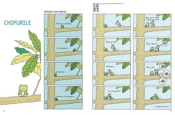Gândurile unei broscuțe – Kazuo Iwamura – Editura Cartea Copiilor