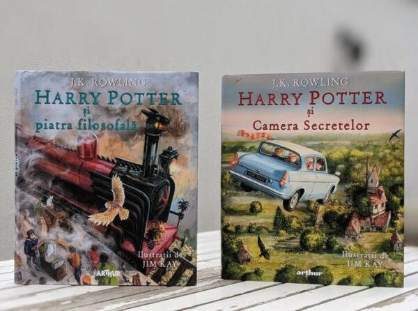 Harry Potter și Camera Secretelor (vol. II), ediție ilustrată – Editura Arthur