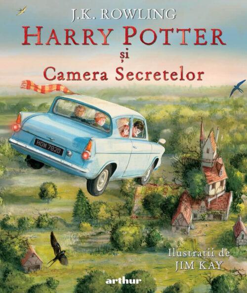 Harry Potter și Camera Secretelor (vol. II), ediție ilustrată - Editura Arthur