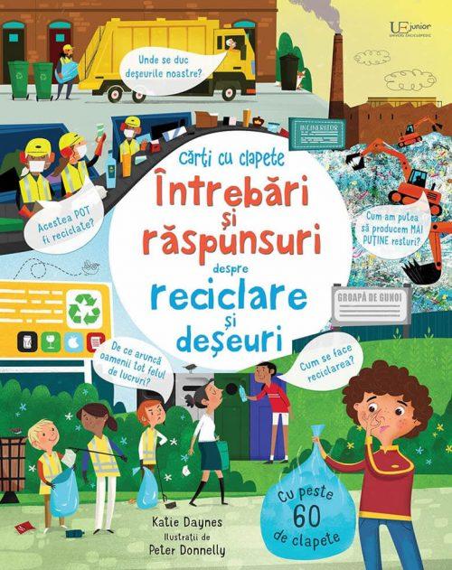 Întrebări și răspunsuri despre reciclare și deșeuri - Usborne română - UEJ