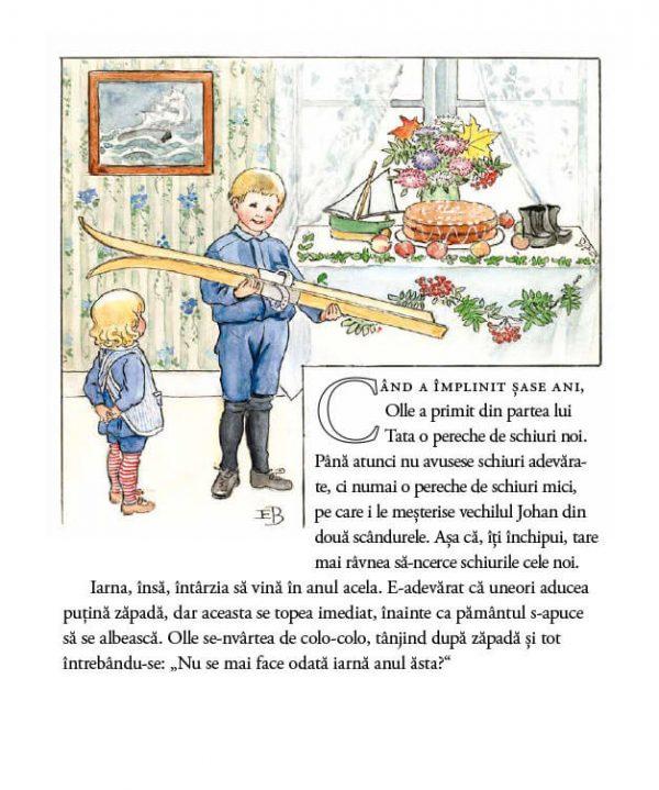 Călătoria lui Olle pe schiuri – Elsa Beskow – Editura Cartea Copiilor