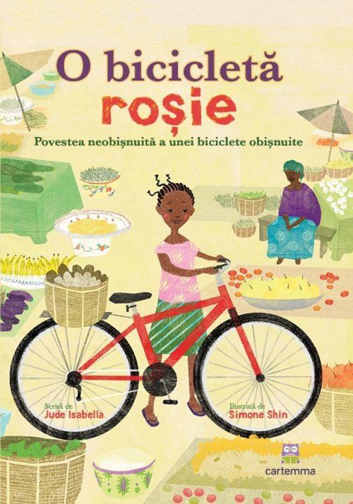 O bicicletă roșie - Jude Isabella, Simone Shin - Editura Cartemma