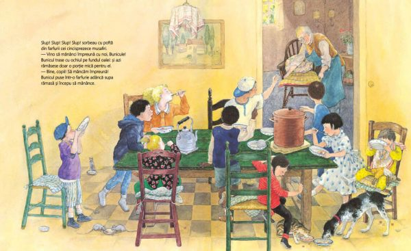 Supa bunicului – Eiko Kadono, Satomi Ichikawa – Editura Cartea Copiilor