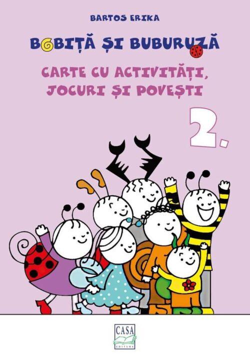 Bobiță și Buburuză - Carte cu activități, jocuri și povești nr. 2