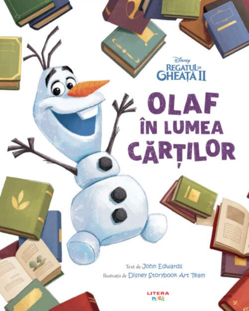 Disney. Regatul de gheață II: Olaf în lumea cărților